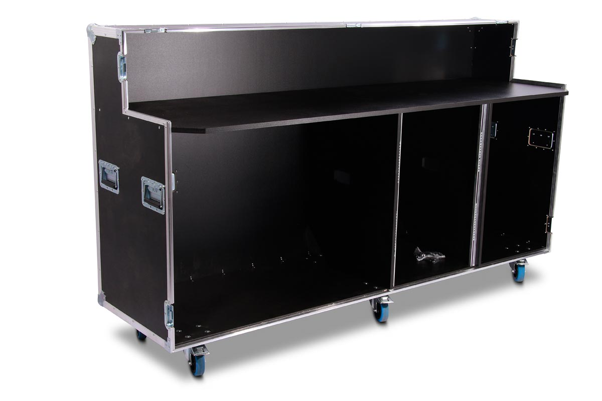 single door winkel case f r 3 k hlschr nke 1x 19 39 39 einheit. Black Bedroom Furniture Sets. Home Design Ideas